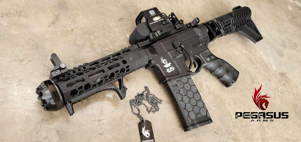 Ar15 Pistol Cheek Rest Sling Plate Stock Adapter Buffer Tube Sling Plate Adapter Pegasus Arms